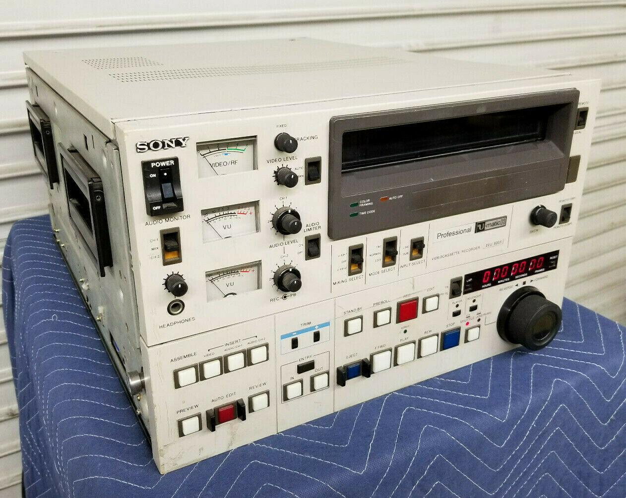 Sony Umatic Tape Player