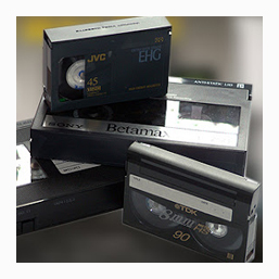 Consumer Family Video and Audio Tape Transfers