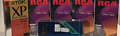 Professional SVHS Video Tape Conversions in Oxfordshire UK