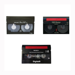 Digital8, Video8 and Hi8 Camcorder Tape Transfers Oxfordshire UK