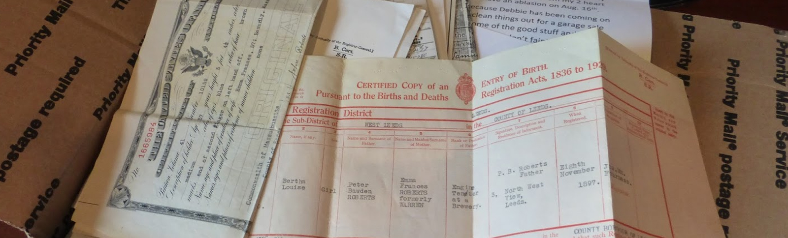 Personal Document Collections Scanning and Digitisation Services