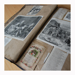 Family Scrapbook Scanning Services in Oxfordshire UK