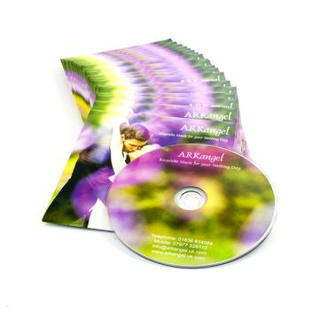 DVD duplication in black or clear cases in Oxfordshire UK