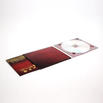 CD + 4 PANEL DIGIPACK + BOOKLET