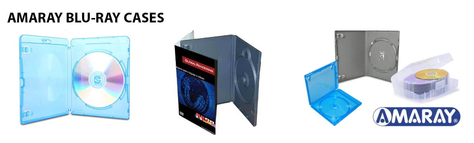 Blu-ray duplication in amaray cases in Oxfordshire UK