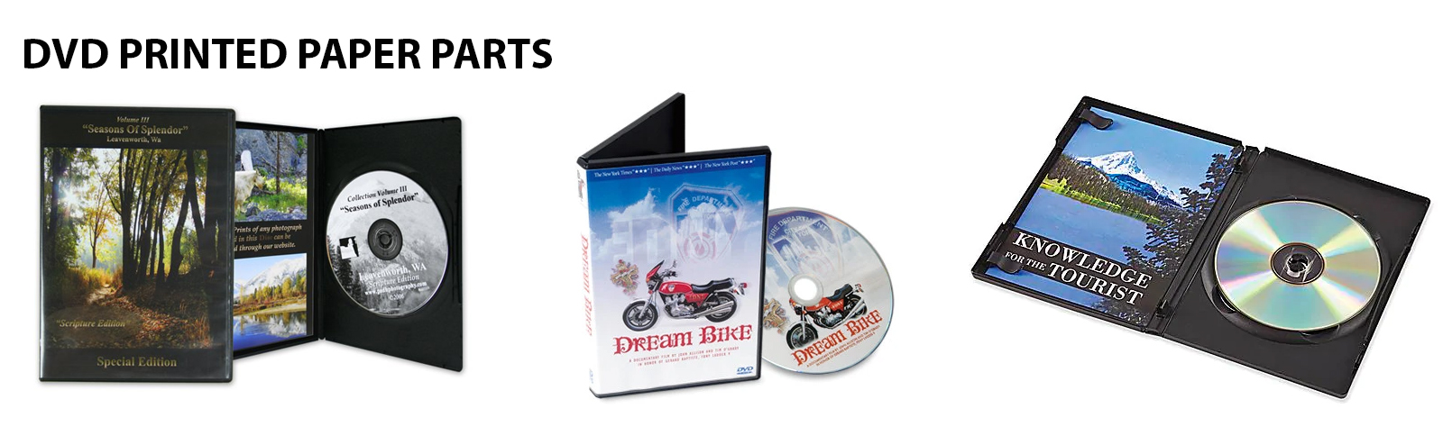 DVDs in Black or Clear Cases in Oxfordshire UK
